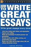 How to write great essays book pdf download by Lauren Starkey