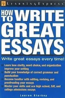 How to write great essays book pdf download by Lauren Starkey