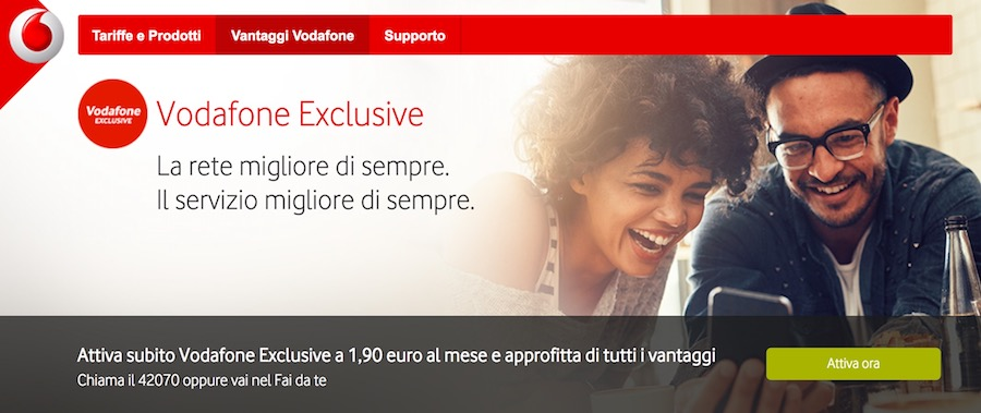 Come attivare Vodafone Exclusive