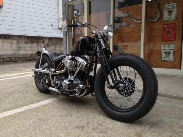 Harley Davidson Shovelhead 1975 By Mix Hard Works Shop Hell Kustom