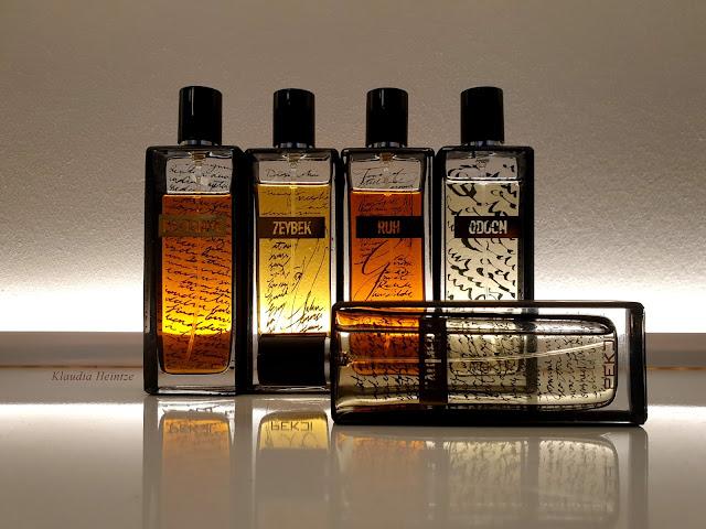 flakony perfum Pekji Niszowe