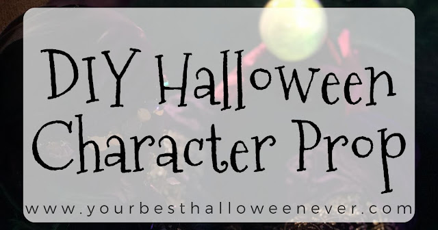 your best halloween ever, diy halloween character prop