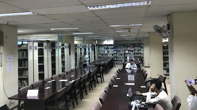 cerita bahasa arab tentang perpustakaan