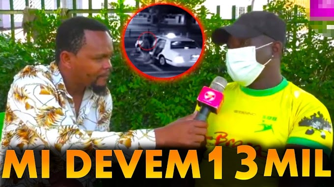 Akeem nega pagar dívida de 13 mil do taxista da sua ex esposa Keta