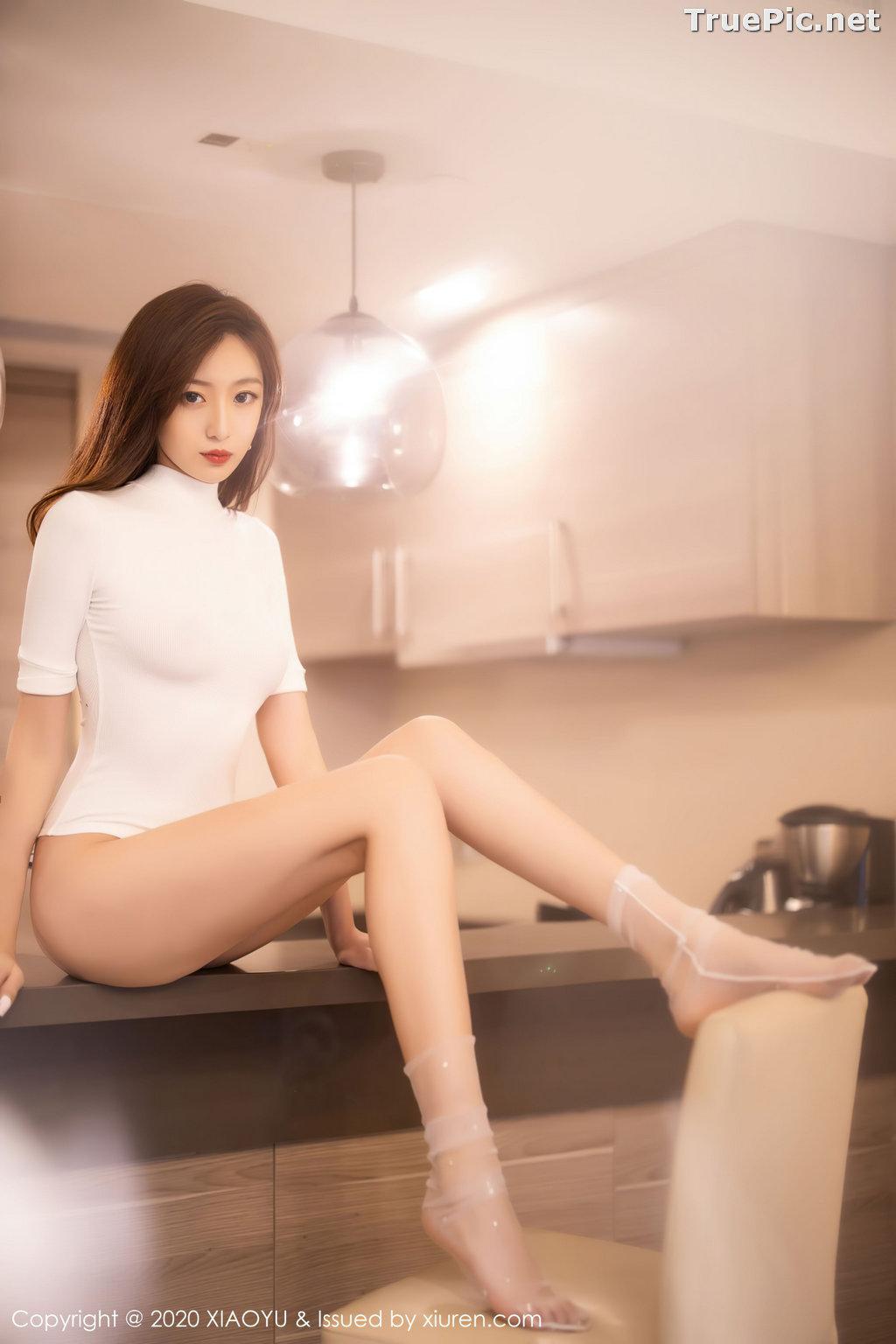 Image XiaoYu Vol.389 - Chinese Model - 安琪 Yee - Beautiful In White - TruePic.net - Picture-9