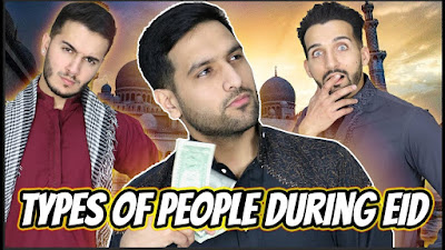 Amazing And Funny Types of People on Eid Day