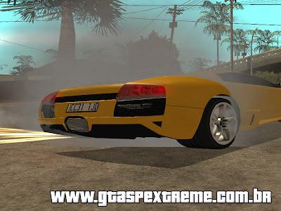 Mod Fritar Pneus (Bornout) para GTA San Andreas