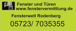 Fenster zum Herstellerpreis Rodenberg