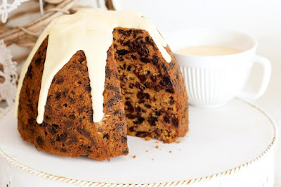 Steamed Christmas pudding recipe