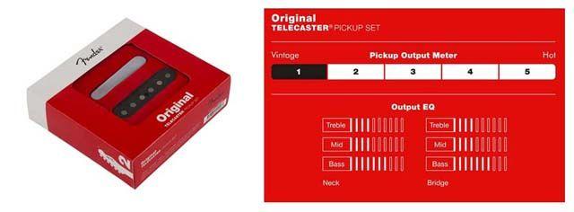 Pastillas Fender Original Vintage Tele: Tono y Características