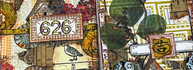 Project #2: Collage with DIY Stickers Banner - Gwen Lafleur