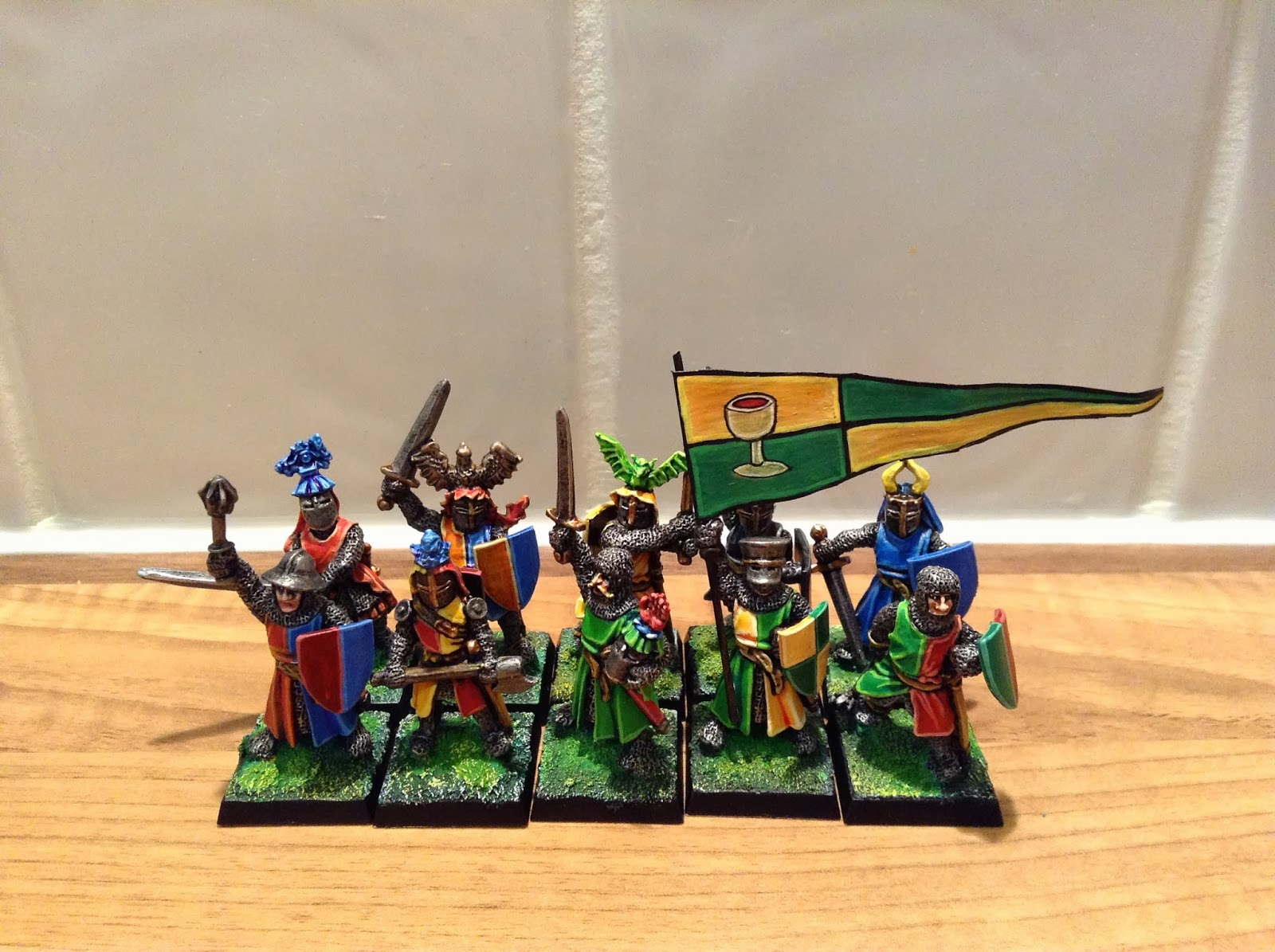 Realm of Chaos 80s: Bretonnian Foot Knights