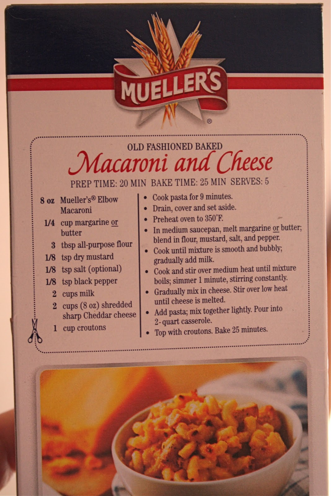 Mueller S Old Fashioned Macaroni And Cheese Recipe