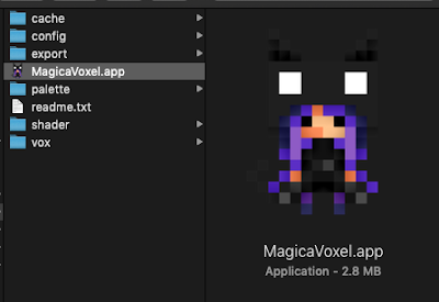 MagicaVoxel App on macOS