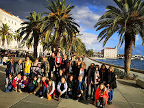 Participants in Split, Croatia