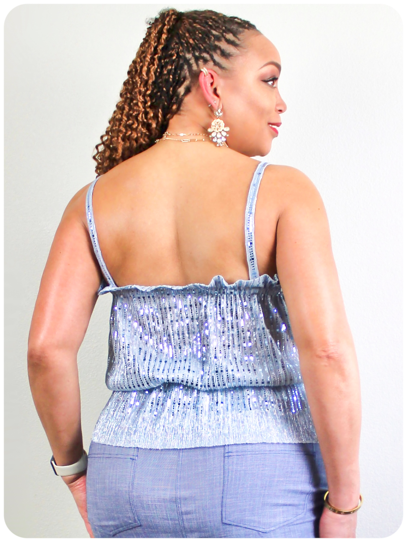 McCall's 8217 Top - Erica Bunker DIY Style x Zelouf Fabrics