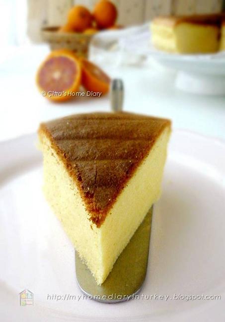 Orange Ogura Cake Recipe