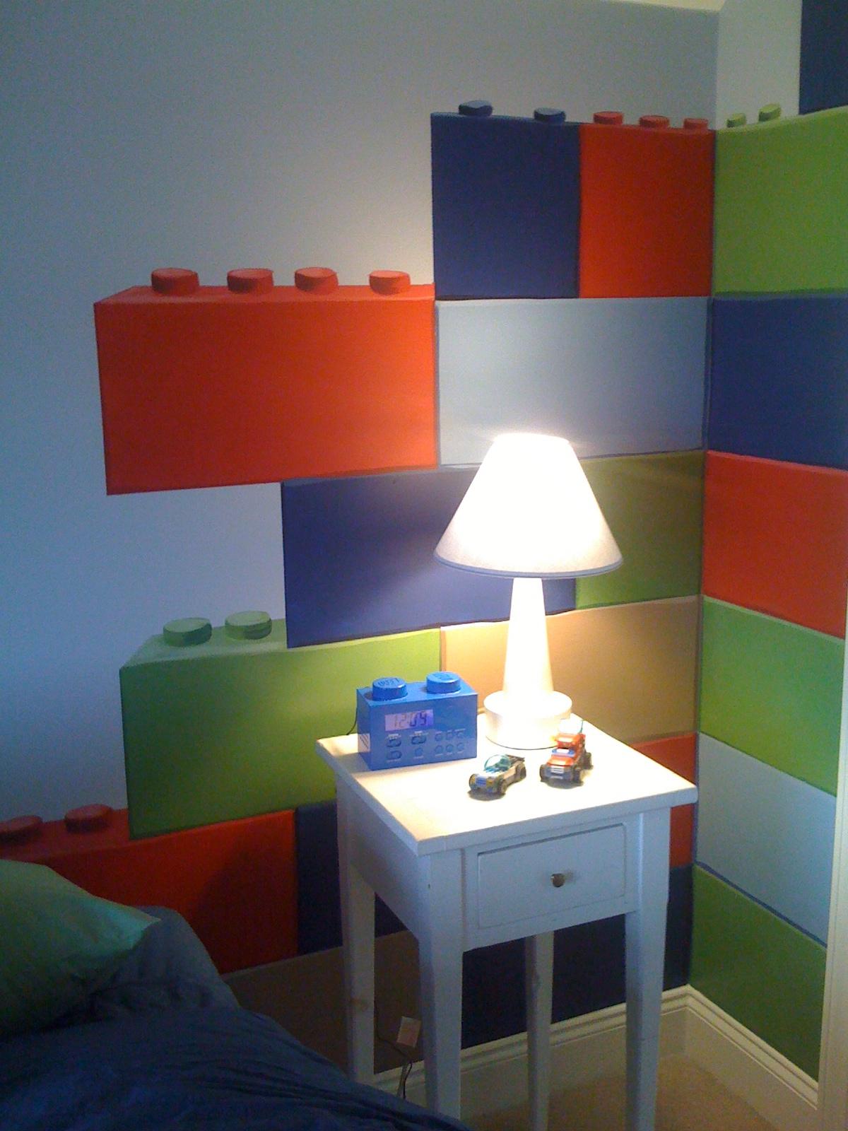 Meme Hill Studio Lego Themed Room Mural