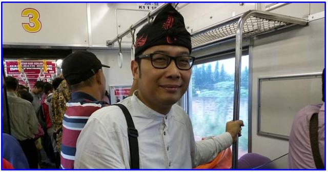 """Penumpang KRL Bekasi-Jakarta Dibuat HEBOH dengan Ridwan Kamil """"KW Super"""""""