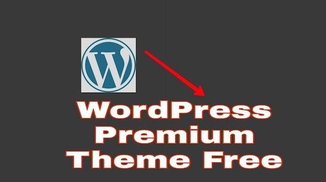 WordPress Premium Theme For Free