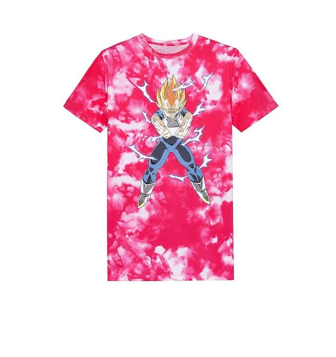 BERSHKA presenta su colección de ropa de Dragon Ball Z