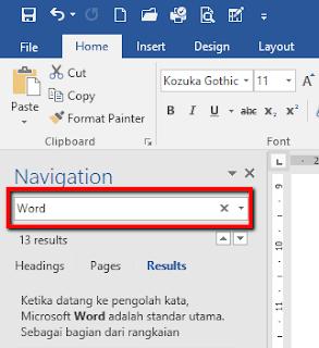 Cara Cepat Mengganti Kata Secara Massal pada Microsoft Word