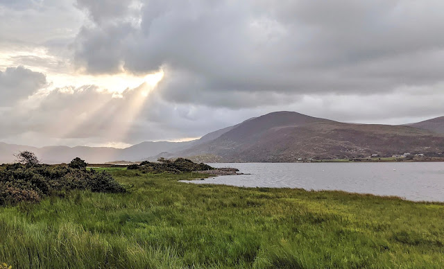 Sunrise over Lough Currane in Waterville Ireland