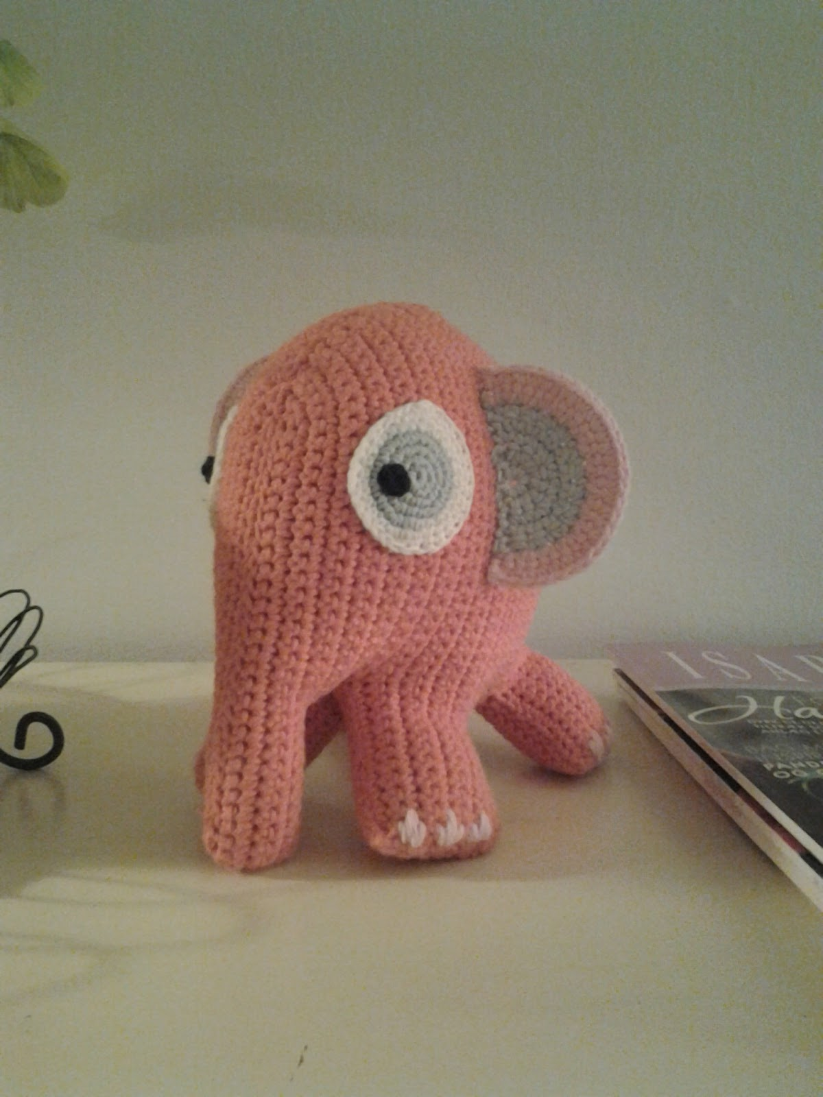 lille sebra elefant