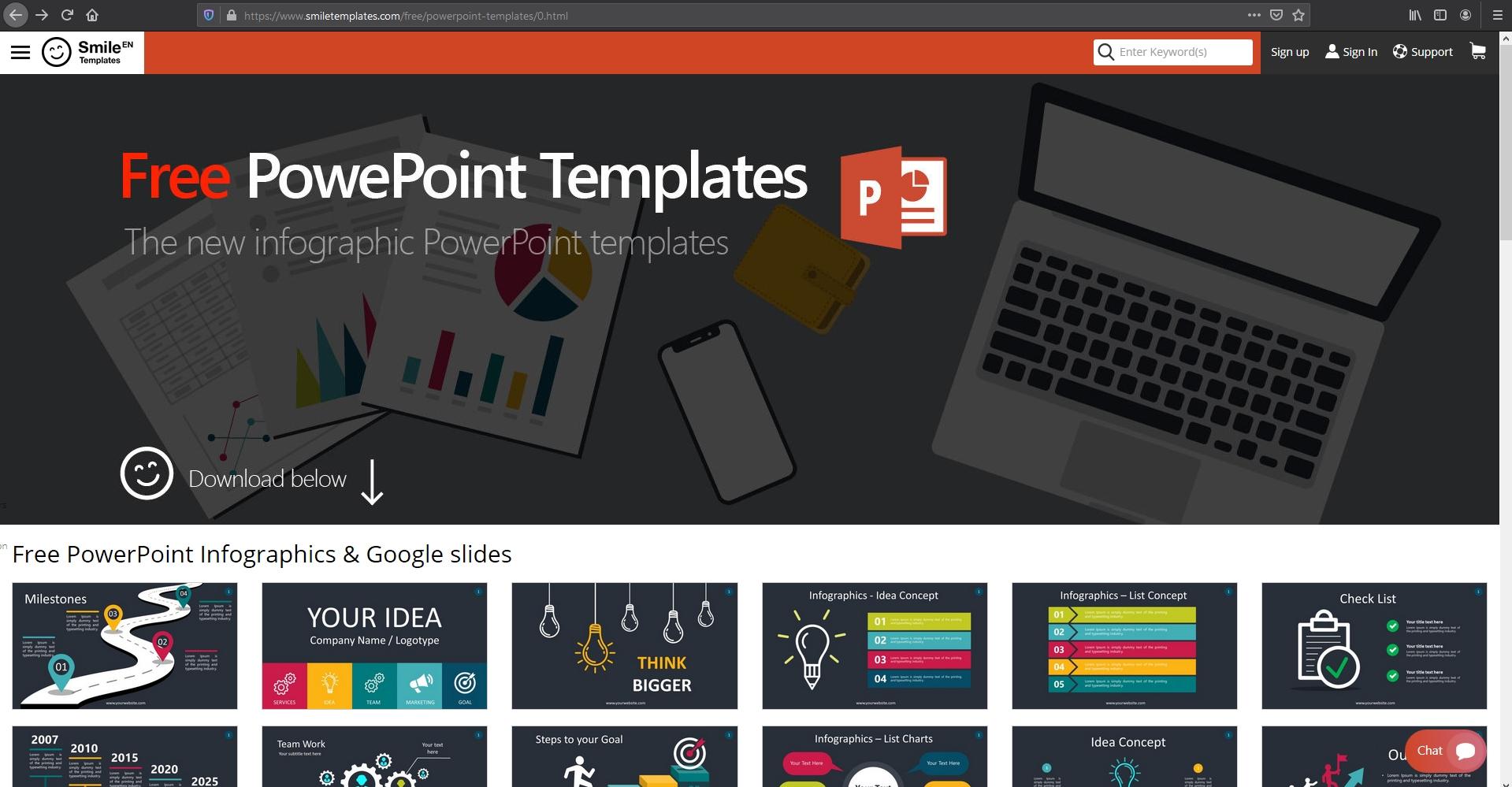 12 Tempat Download Template Ppt Powerpoint Gratis Terbaik Lewatonline Com