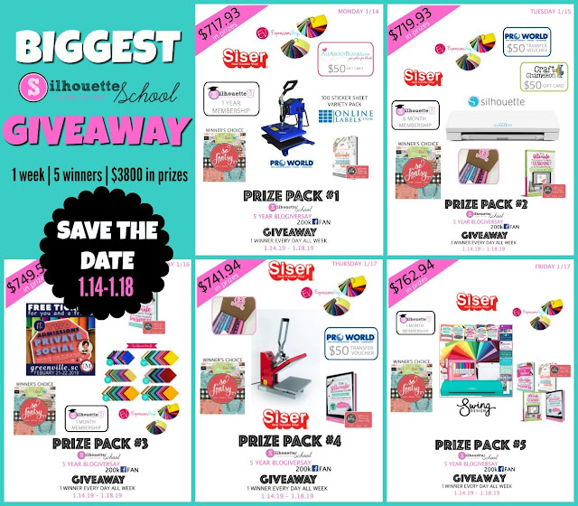silhouette giveaway, silhouette school blog, silhouette cameo giveaway, silhouette 101, silhouette america blog