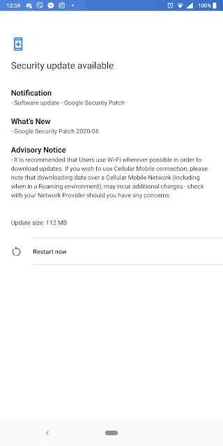 Nokia 5.1 receiving June 2020 Android Security patch