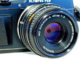 Minolta MD 45mm F2
