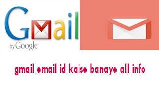 जीमेल ईमेल आईडी कैसे बनाये