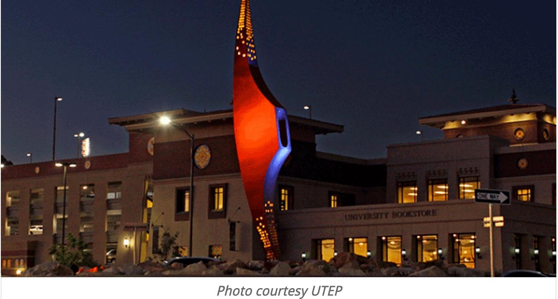 Utep Campus Night