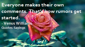 quotes about rumors