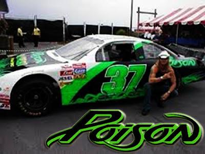 Derrike Cope #37 Poison Racing Champions 1/64 NASCAR diecast blog Pocono 2002 Bret Michaels