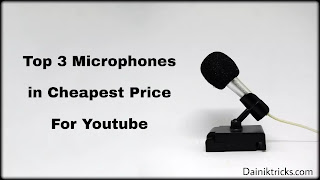 Cheapest Price Ke Top 3 Microphones For Youtube