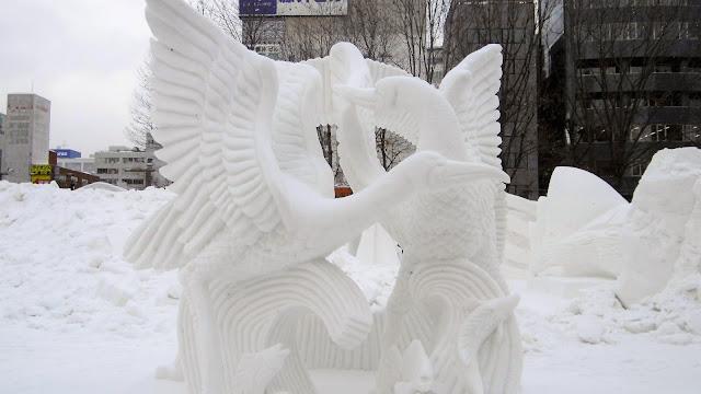 北海道、さっぽろ雪まつりの最優秀雪像、フェニックス(不死鳥)