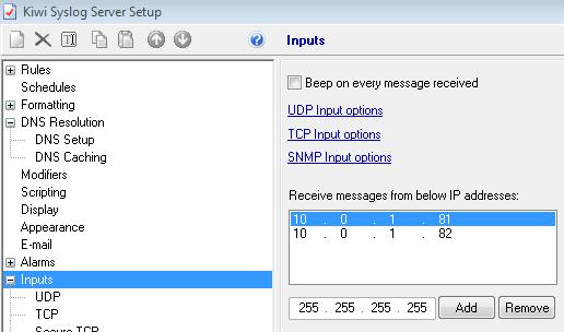 Blackdax — Datagram Syslog Agent isimli uygulama ile Windows
