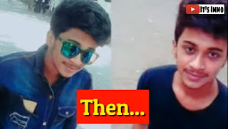 hasnain khan Tiktok Star Childhood Photo