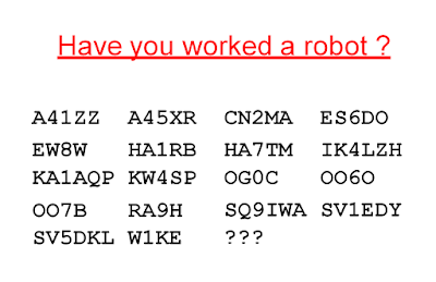 You have probably worked an FT8 robot
