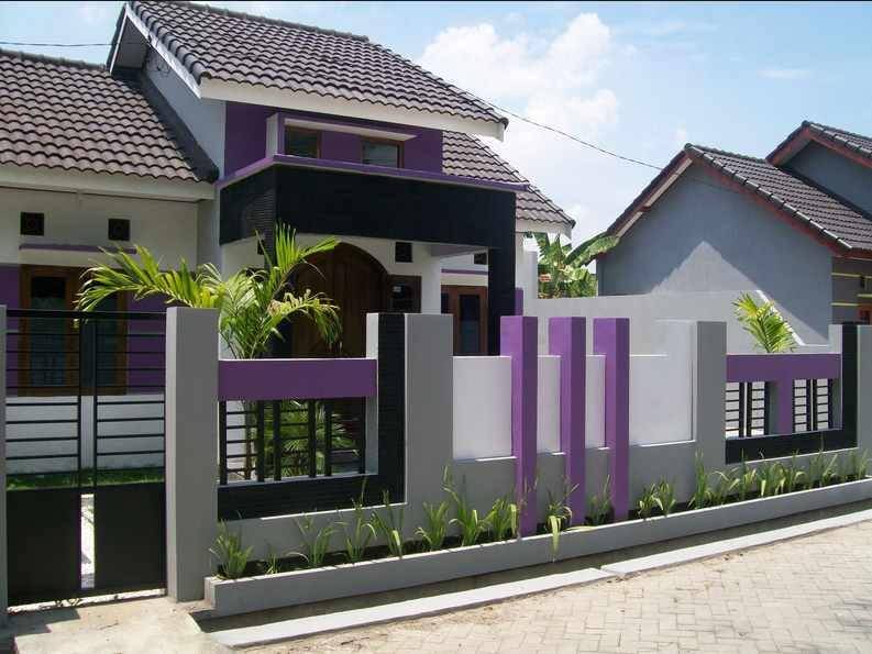 5 Desain Pagar Rumah Batu Alam By Jasa Tukang Taman