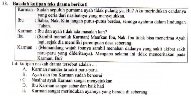 UNSUR INTRINSIK DRAMA ~ ZUHRI INDONESIA
