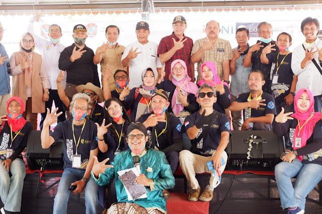 Kodim Karanganyar - Launching Wisata Dan Bursa Kendaraan Djadoel Milenial, Sebagai Sarana Refreshing Masyarakat Karanganyar