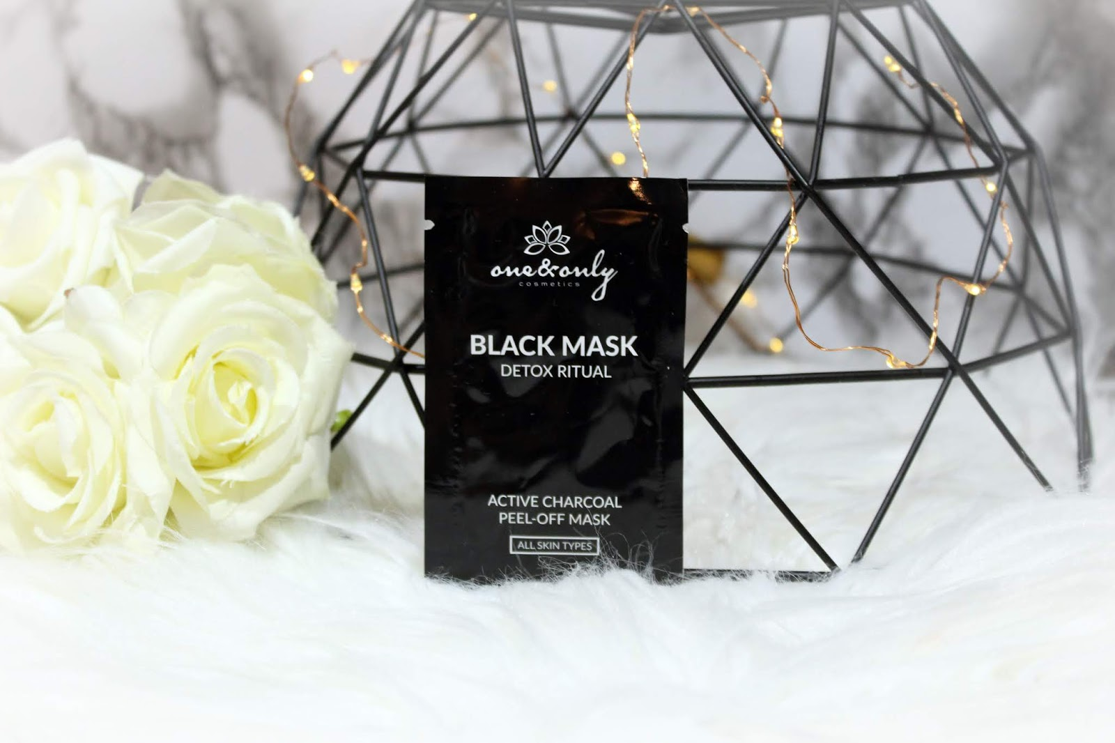 One & Only Cosmetics - Black Mask Detox Ritual