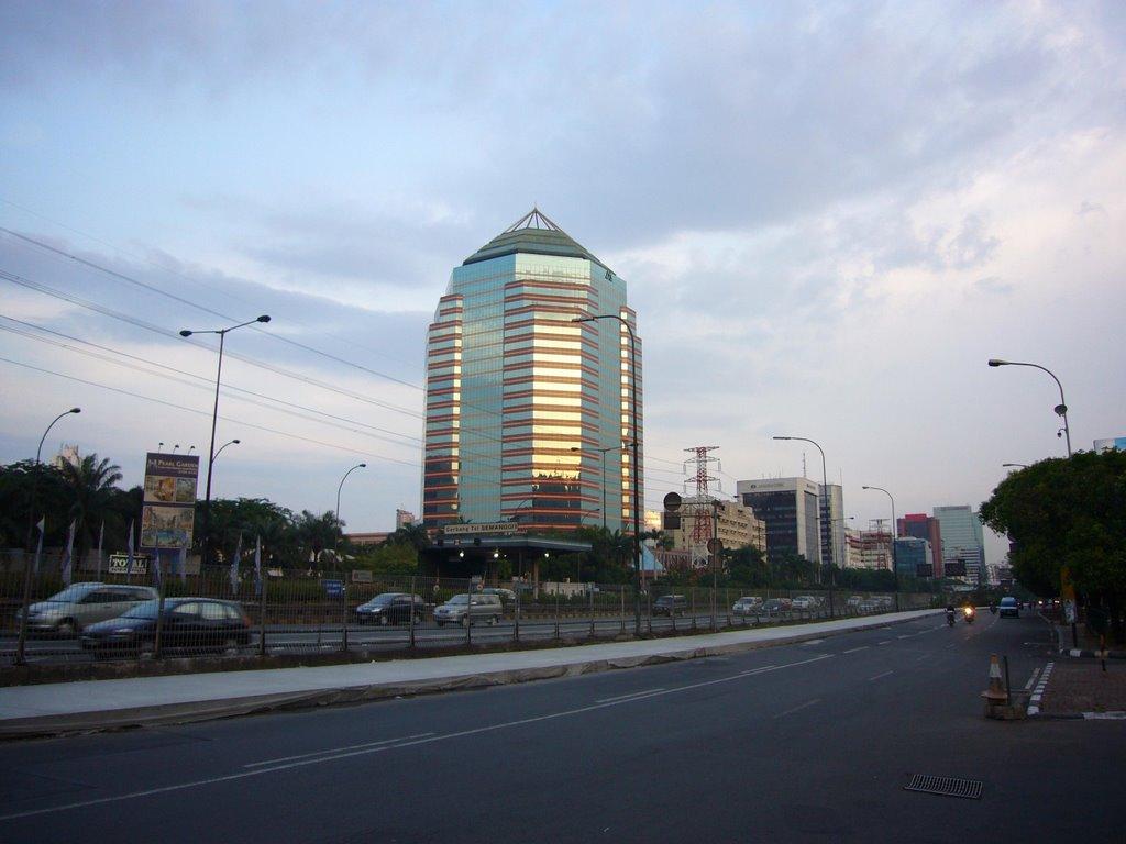 Pengalaman Mengurus Visa Brazil di Jakarta - Gedung Menara Mulia