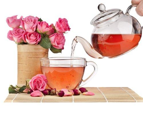 ولنتعرف اليوم على الشاي الورد وفوائدها