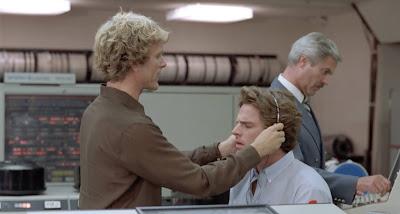 Kier Dullea and Joseph Bottoms in a scene from BLIND DATE
