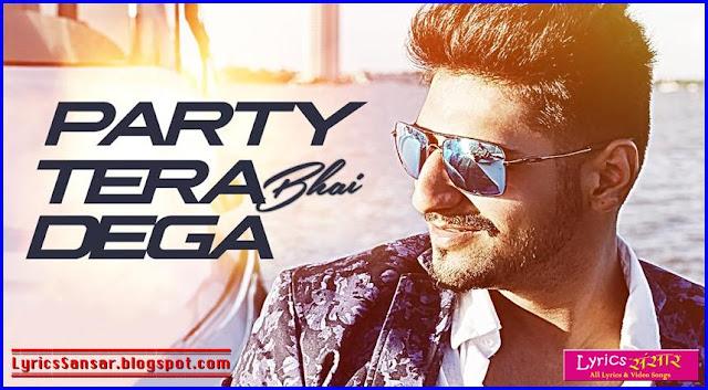 Party Tera Bhai Dega : Karan Singh Arora