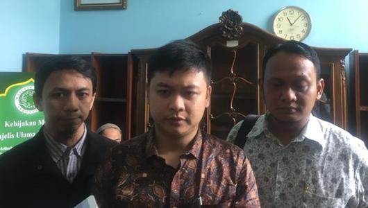 Pelapor Sukmawati Datangi MUI Minta Dukungan Ulama Indonesia
